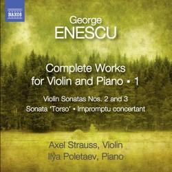 George Enescu - Complete Works For Violin Vol.1 - CD