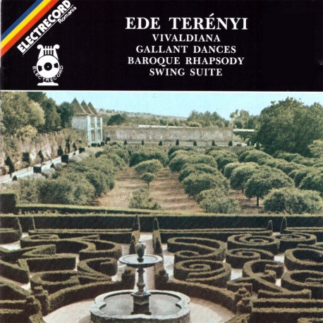 Ede Terenyi - Vivaldiana, Gallant Dances, Baroque Rhapsody, Swing Suite - CD