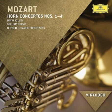 Wolfgang Amadeus Mozart - Horn Concertos No.1-4 - CD