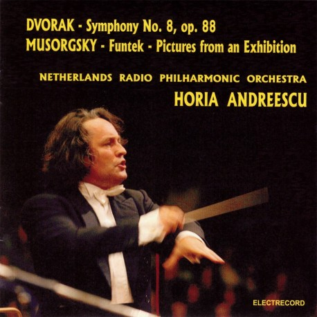 Antonin Dvorak / Modest Mussorgsky - Symphony 8 / Pictures from an Exhibition - CD
