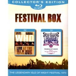 Who / Moody Blues - Boxset Isle Of Wight - 2 Blu-ray