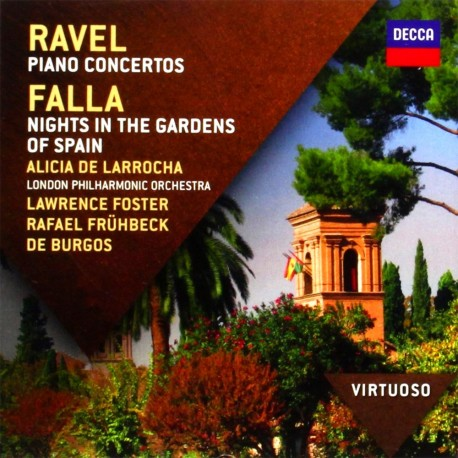 Maurice Ravel / Manuel De Falla - Piano Concertos / Nights In The Gardens Of Spain - CD