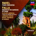Maurice Ravel / Manuel De Falla - Piano Concertos / Nights In The Gardens Of Spain - CD