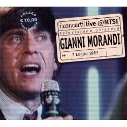 Gianni Morandi - Live At RTSI - CD digipack