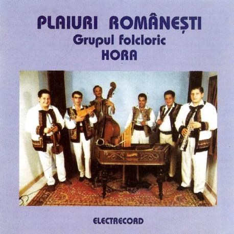 Grupul folcloric HORA - Plaiuri romanesti - CD