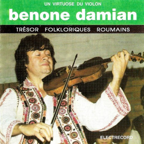 Benone Damian - Un virtuose du violin - CD