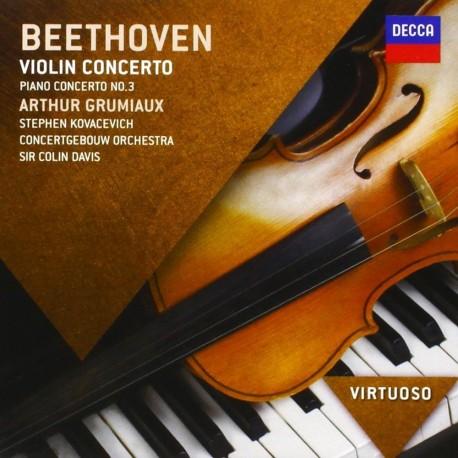 Ludwig Van Beethoven - Violin Concerto / Piano Concerto No.3 - CD
