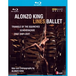 Alonzo King Lines Ballet - Triangle of the Squinches / Dust and Light / Scheherazade - Blu-ray