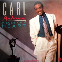 Carl Anderson - Pieces Of A Heart - Cut-out Vinyl LP