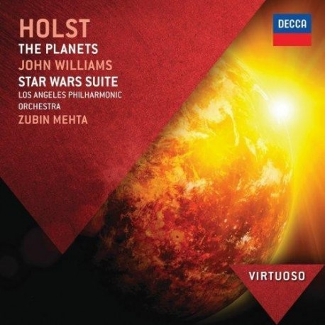 Gustav Holst - John Williams - The Planets - Star Wars Suite - CD