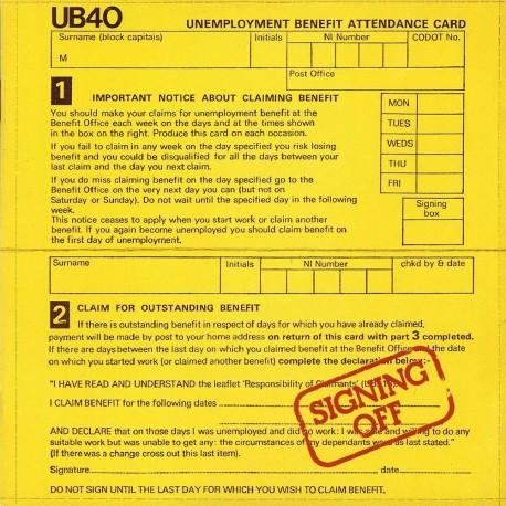 Ub 40 - Signing Off - CD