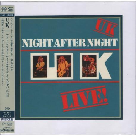 U.K. - Night After Night - Japan cardbord sleeve SHM-SACD