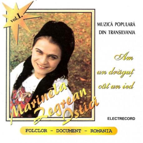 Marinela Negrean Istici - vol.I - Am un drăguţ cât un ied - CD
