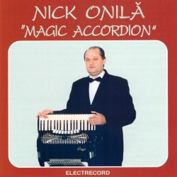 Nick Onilă - Magic accordion - CD
