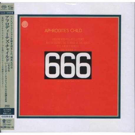 Aphrodite's Child - 666 - Japan cardbord sleeve SHM-SACD