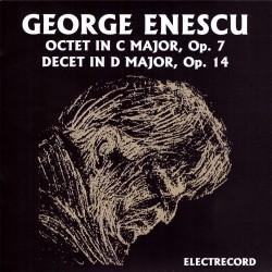 George Enescu - Octet in C major, op.7 / Decet for winds in D major, op.14 - CD