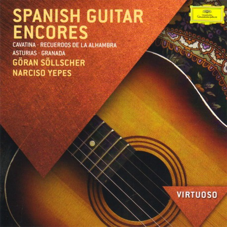 Goran Solscher / Narciso Yepes - Spanish Guitar Encores - CD