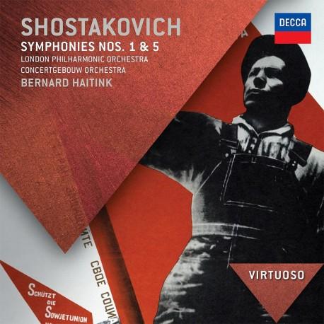 Dmitri Shostakovich - Symphonies No.1 & 5 - CD