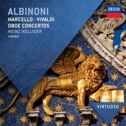 Tomaso Albinoni / Alessandro Marcello / Antonio Vivaldi - Oboe Concertos - CD