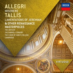 Gregorio Allegri / Thomas Tallis - Miserere / Lamentations Of - CD