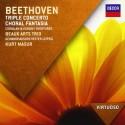Ludwig Van Beethoven - Triple Concerto / Choral Fa - CD