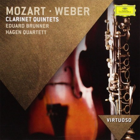 Wolfgang Amadeus Mozart / Carl Maria Von Weber - Clarinet Quintets - CD