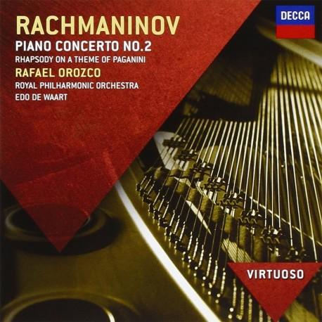 Sergei Rachmaninoff - Piano Concerto No.2 - CD