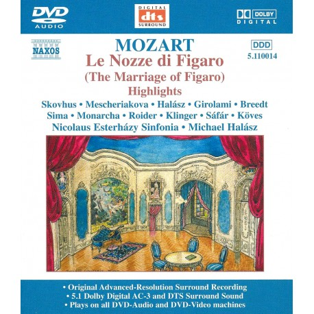 Wolfgang Amadeus Mozart - Le Nozze Di Figaro - DVDA