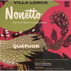 Heitor Villa-Lobos - Nonetto - CD