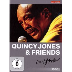 Quincy Jones - Live At Montreux 1996 - DVD digipack
