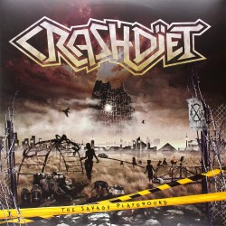 Crashdiet - Savage Playground - 1000 Limited Clear Vinyl / 180g - 2LP