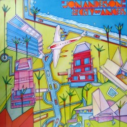 Jon Anderson - In The City Of Angels - LP