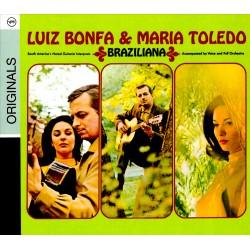 Luiz Bonfa & Maria Toledo - Braziliana - CD digipack