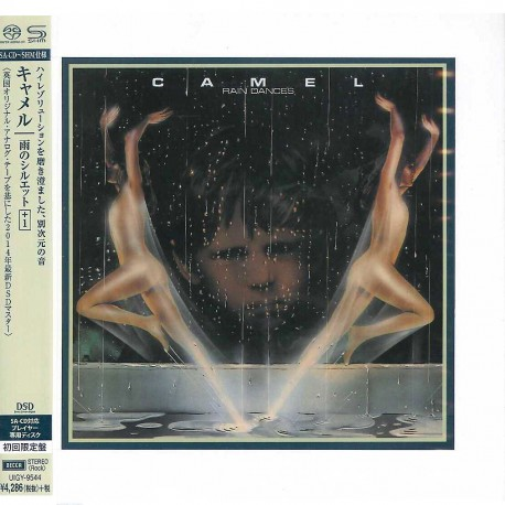 Camel - Rain Dances - Japan Cardboard Sleeve SHM-SACD