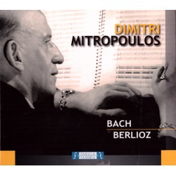 Dimitri Mitropoulos - Dirige Bach e Berlioz - CD digipack