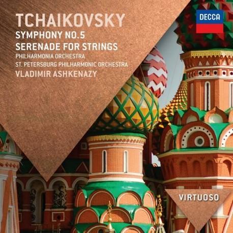 Pyotr Ilyich Tchaikovsky - Symphony No.5 / Serenade For Strings - CD