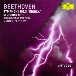 Ludwig van Beethoven - Symphonies No.1 & 3 / Eroica - CD