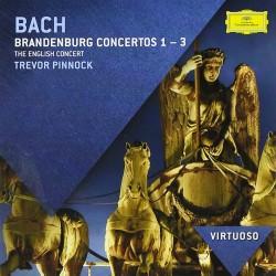 Johann Sebastian Bach - Brandenburg Concertos 1-3 - CD