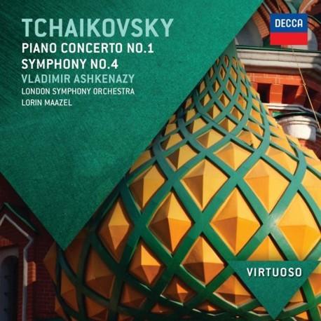 Pyotr Ilyich Tchaikovsky - Piano Concerto No.1 / Symphony No.4 - CD