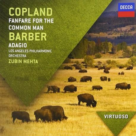 Aaron Copland / Samuel Barber - Farfare For The Common Man / Adagio - CD