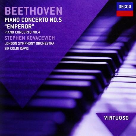 Ludwig van Beethoven - Piano Concertos No.5 - CD