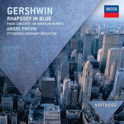 George Gershwin - Rhapsody in Blue / Concerto in Fa / An American in Paris / NY Rhapsody - CD