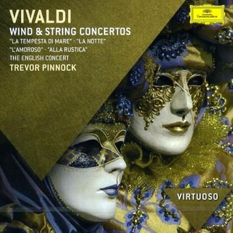 Antonio Vivaldi - Wind & String Concertos - CD