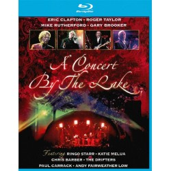 Eric Clapton, Roger Taylor, Mike Rutherford, Gary Brooker - A Concert By The Lake - Blu-ray