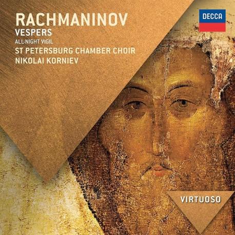 Sergei Rachmaninoff - Vespers - CD