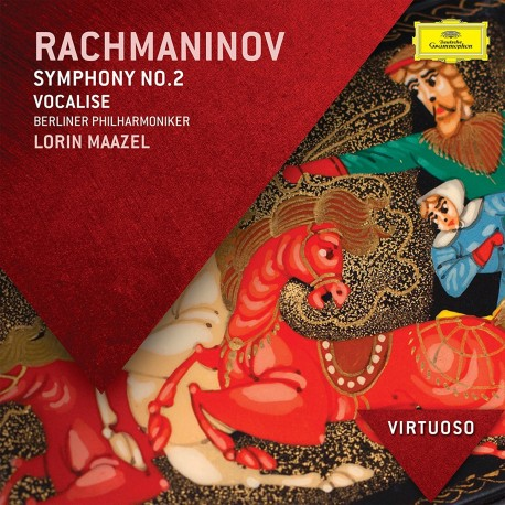 Sergei Rachmaninoff - Symphony No.2, Vocalise - CD