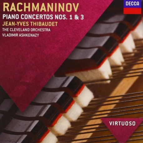 Sergei Rachmaninoff - Piano Concertos No.1 & 3 - CD