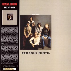 Procol Harum - Procol's Ninth - CD vinyl replica