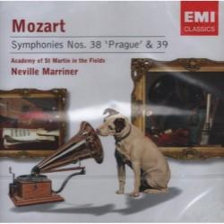 Wolfgang Amadeus Mozart - Symphonies No.38 & 39 - CD