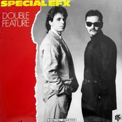 Special EFX - Double Feature - Cut-out Vinyl LP